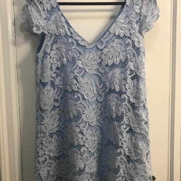 Bb Dakota Jacqueline Lace Shift Dress Size M